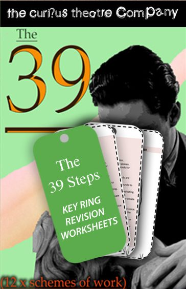 The 39 Steps Key ring revision worksheets