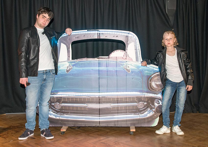 Grease The curious theatre company
