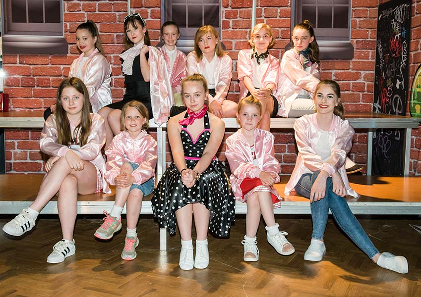 Grease The curious theatre company group
