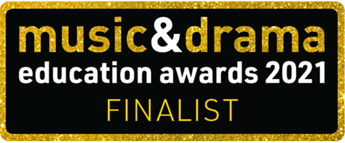 The Curious Theatre Company is finalist in the Music & Drama Education Award 2021